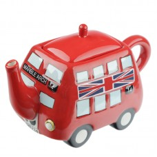 Fun Novelty Routemaster Red Bus Teapot