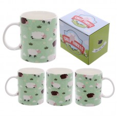 Fun New Bone China Mug - Sheep Design