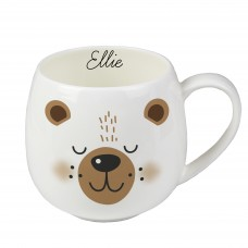 Personalised Cute Bear Shape Mug