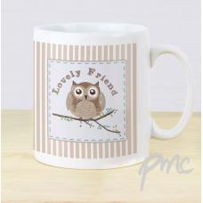 Woodland Owl Mug